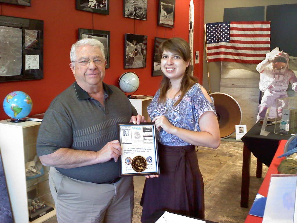 Donor Tom Taramino & Volunteer Laura Fies